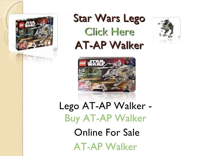 Star Wars Lego Click Here  AT-AP Walker  Lego AT-AP Walker -  Buy AT-AP Walker  Online For Sale AT-AP Walker