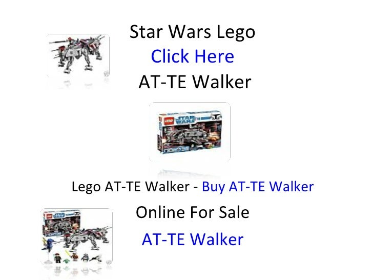 Star Wars Lego Click Here  AT-TE Walker Lego AT-TE Walker -  Buy AT-TE Walker Online For Sale AT-TE Walker