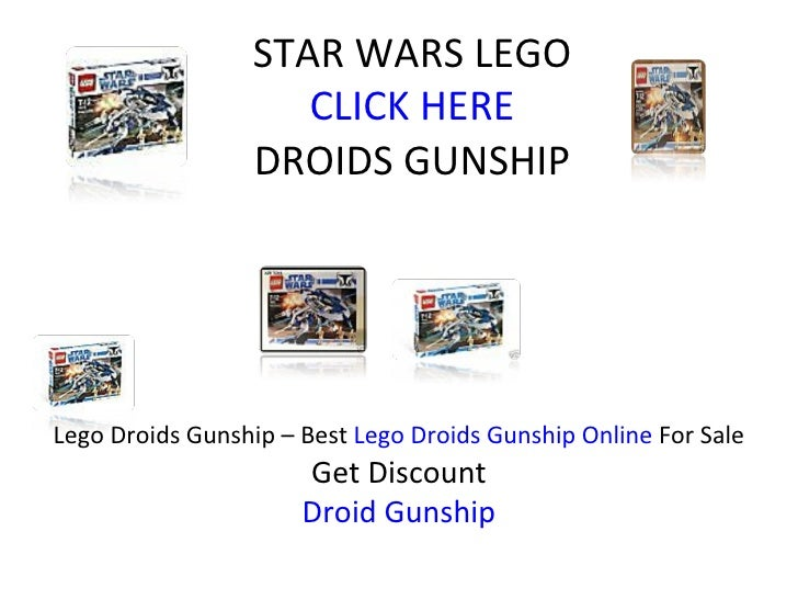 STAR WARS LEGO CLICK HERE DROIDS GUNSHIP Lego Droids Gunship – Best  Lego Droids Gunship Online  For Sale Get Discount Dro...
