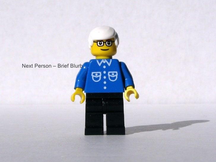 Next Person – Brief Blurb