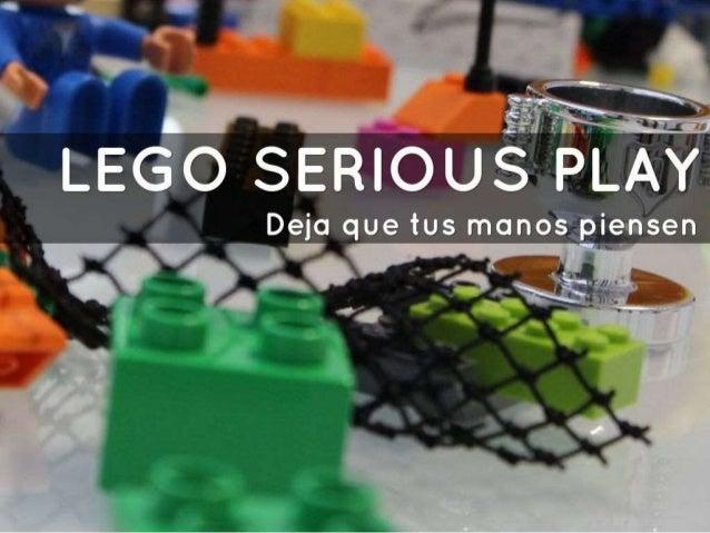 Deja que tus manos piensen: Lego Serious Play