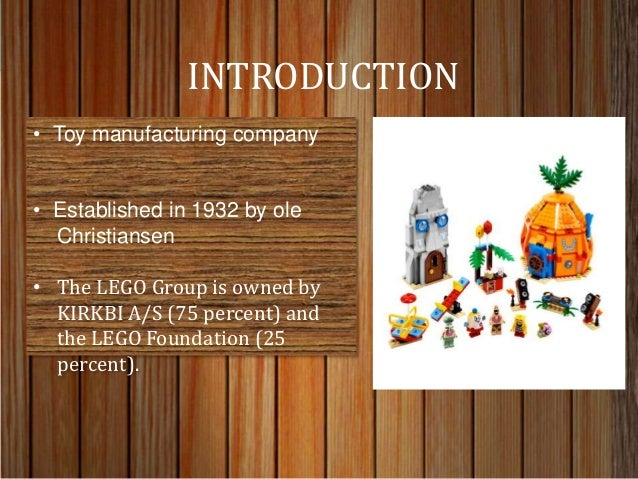 a company history of the lego group A history of the danish toy company lego, who went from producing wooden toys to the enduringly popular plastic bricks we all love with detailed info about their products, and tips on building with lego bricks.