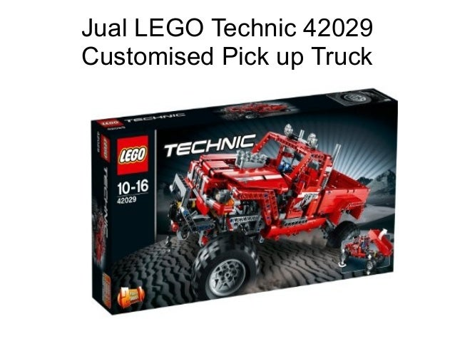 jual lego technic 42029 customised pick up truck. Black Bedroom Furniture Sets. Home Design Ideas