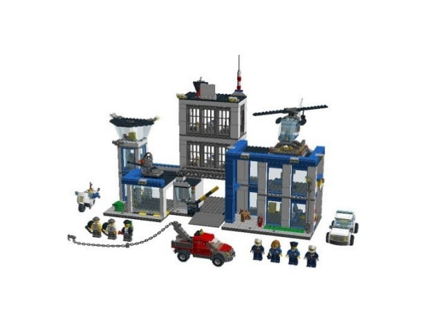 Jual Lego City Police 60047 Police Station