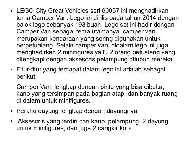 Jual LEGO City Great Vehicles 60057: Camper Van