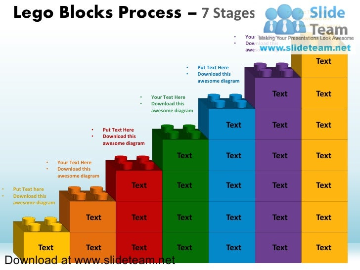 Lego Blocks Process – 7 Stages                                                                          •                 ...