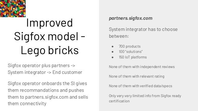 """Suggested Sigfox model - LEGO boxes """"Use case in a box"""" It contains very nice pictures of the final creation It gives you fl..."""