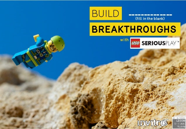 BUILD BREAKTHROUGHS (fill in the blank) with --------------
