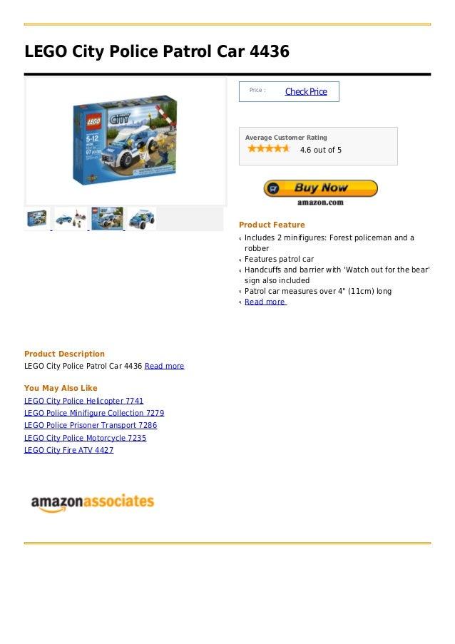LEGO City Police Patrol Car 4436                                                  Price :                                 ...