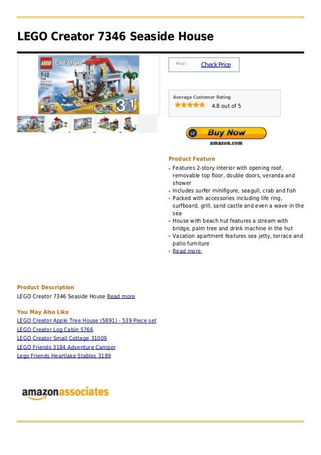 LEGO Creator 7346 Seaside House                                                            Price :                        ...