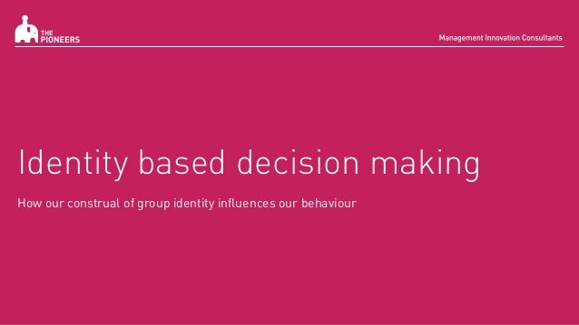 information based decision making Invited audience members will follow you as you navigate and present people invited to a presentation do not need a prezi account this link.