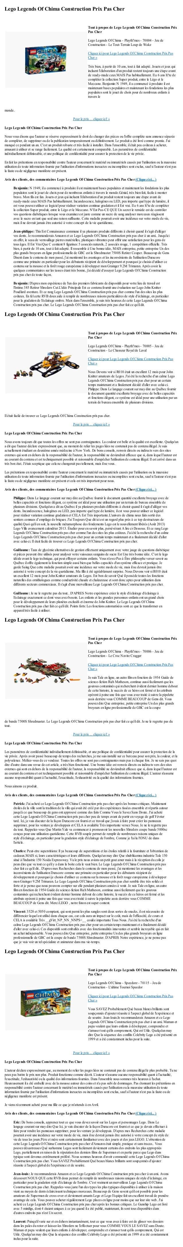 Lego Legends Of Chima Construction Prix Pas Chermonde.Pour le prix ... cliquez ici! »Lego Legends Of Chima Construction Pr...