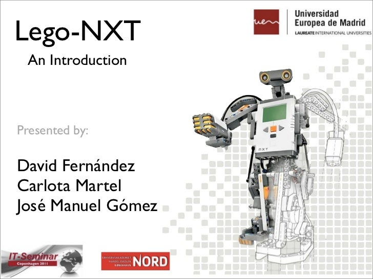 Lego NXT: An Introduction