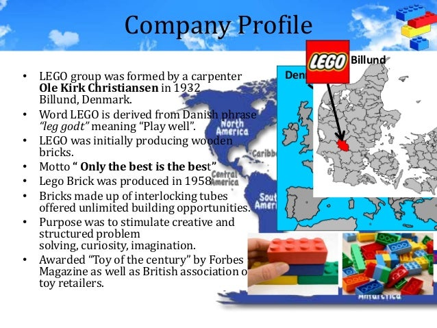 an analysis of the lego company Academic assist 1 identifying, analysing and assessing the features of external environment influencing strategy development of lego group 11pestel analysis.