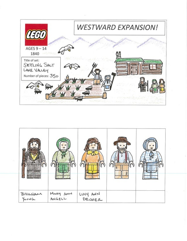 a few examples of the lego template in use
