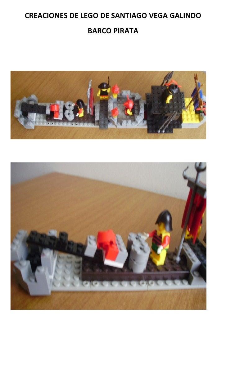 CREACIONES DE LEGO DE SANTIAGO VEGA GALINDO               BARCO PIRATA