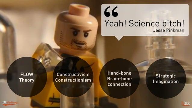 Constructivism Constructionism FLOW Theory Hand-bone Brain-bone connection Strategic Imagination Yeah! Science bitch! Jess...
