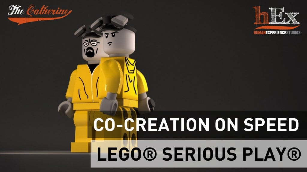 Co-creation on speed with LEGO® SERIOUS PLAY®