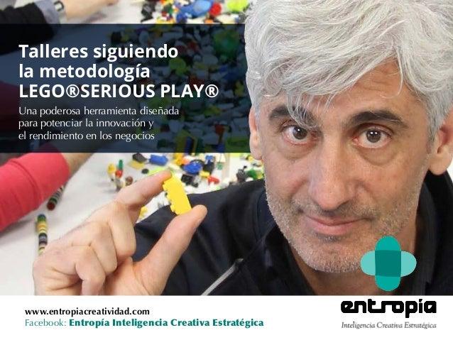 www.entropiacreatividad.com Facebook: Entropía Inteligencia Creativa Estratégica Una poderosa herramienta diseñada para po...