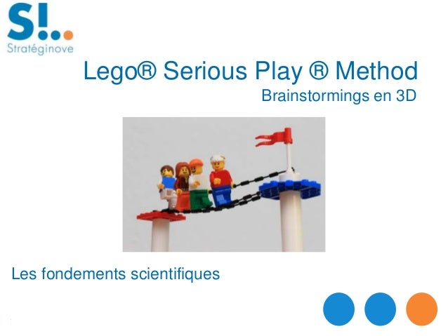 Brainstormings en 3D Lego® Serious Play ® Method Les fondements scientifiques