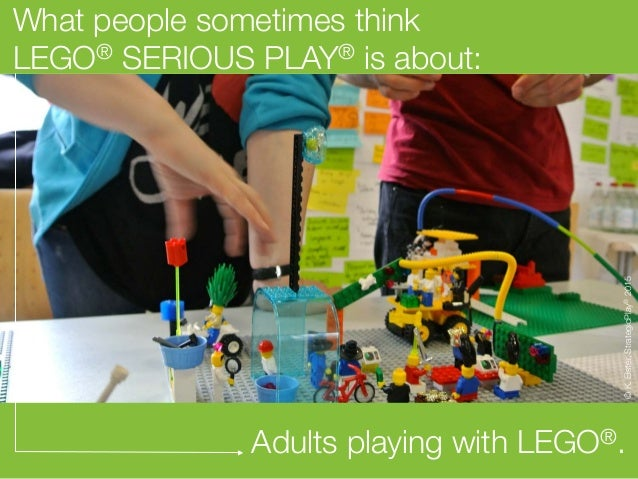 Lego® Serious Play® in a Nutshell - by StrategicPlay® Slide 2