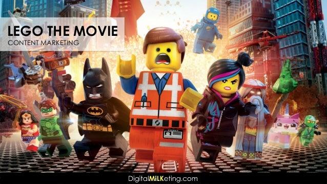 LEGO THE MOVIE CONTENT MARKETING
