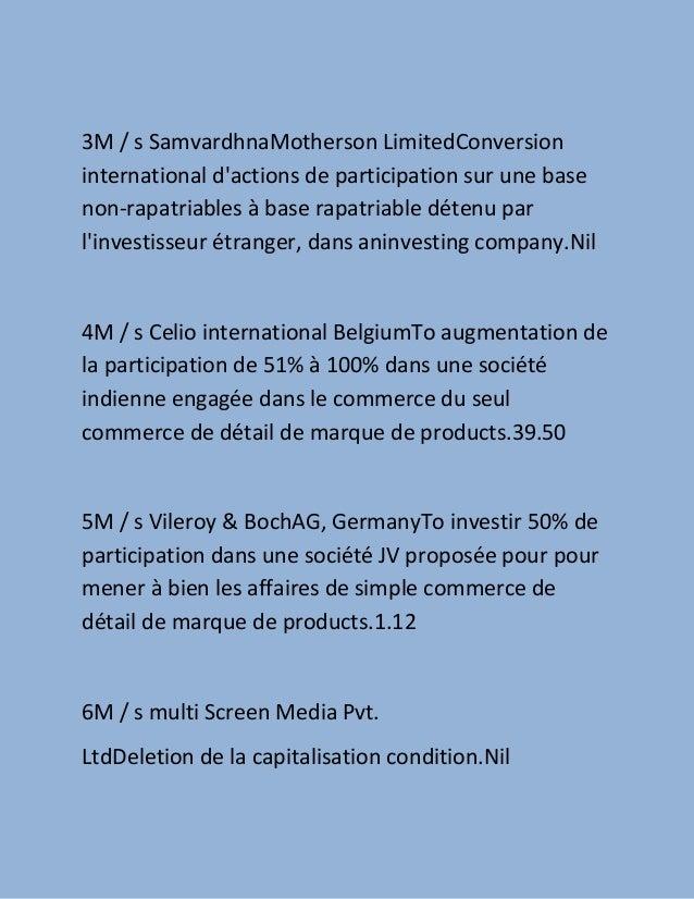Le gouvernement approuve 16 étrangères propositions d'investissement direct en hausse de tendance entreprises indiennes  ,,, how to setup business by france companies in india guide Slide 3