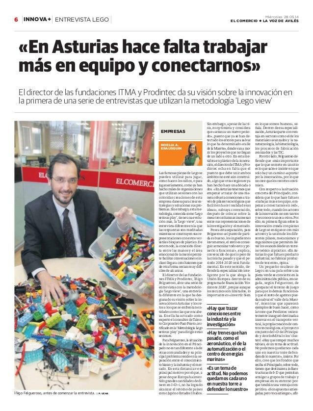 Las famosas piezas de Lego se pueden utilizar para jugar, como hacen los niños, o para jugarseriamente,comoyahan hechomile...