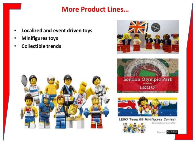 marketing and lego Strategy of aligning themselves with lego company's products and marketing, new trendy products emerged and retailers developed own private labels products the decline was particularly.