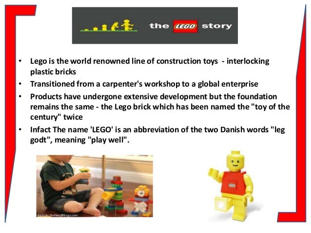 lego segmentation Lego is 100 years old company which is famous for its toys it started off in denmark as of now they have become the world's largest toy company by reporting revenues above all their competitors.