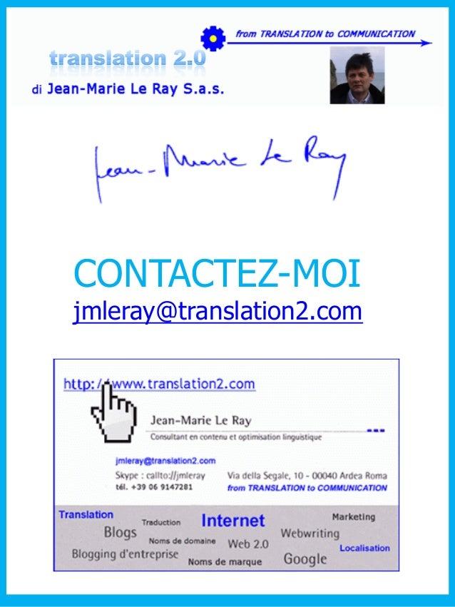 CONTACTEZ-MOI  jmleray@translation2.com