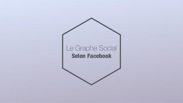 Le Graphe Social Selon Facebook