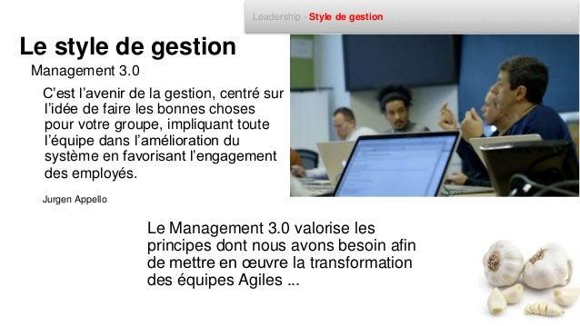 • Participation du management • Motivation des équipes • Responsabilisation de tous • Promouvoir une culture de changement...