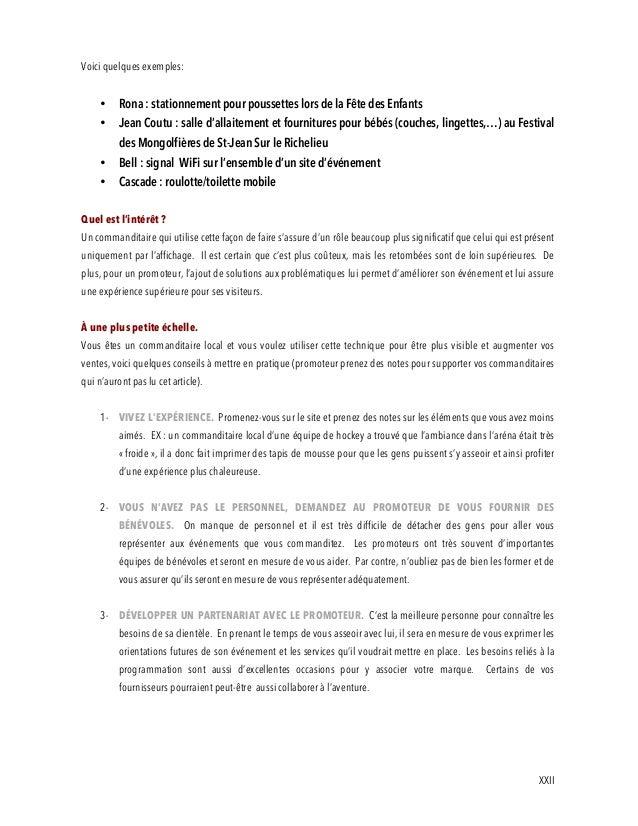 lettre de commandite exemple