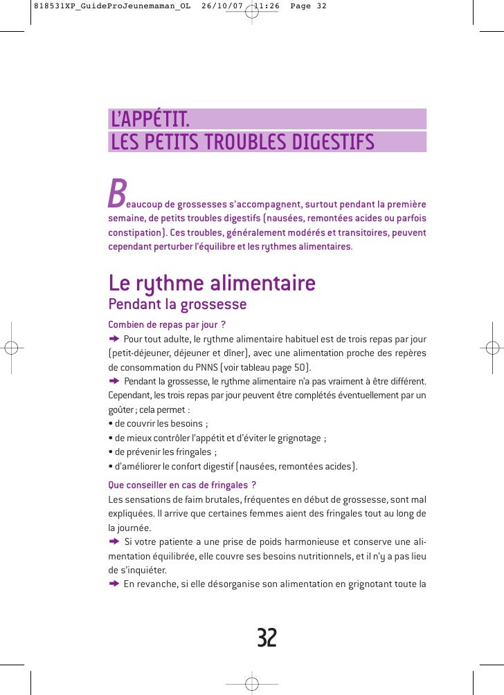 Le guide nutrition pendant et après la grossesse
