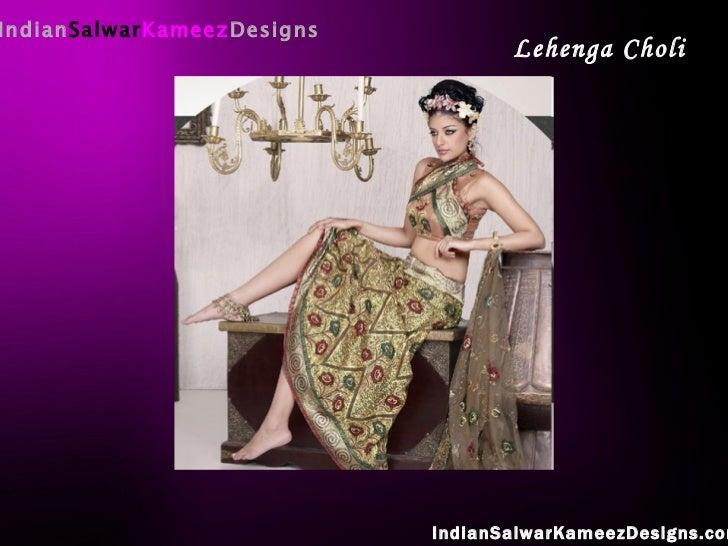 Indian Salwar Kameez Designs IndianSalwarKameezDesigns.com Lehenga Choli