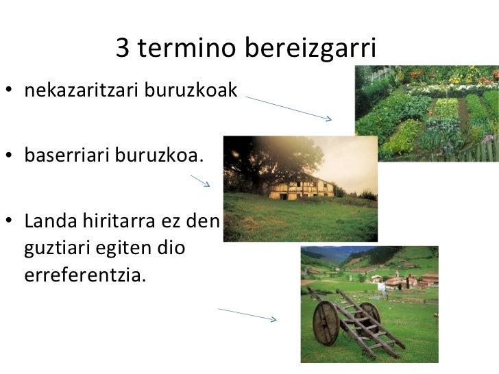Lehen sektorea  3 dbh 7. gaia Slide 3
