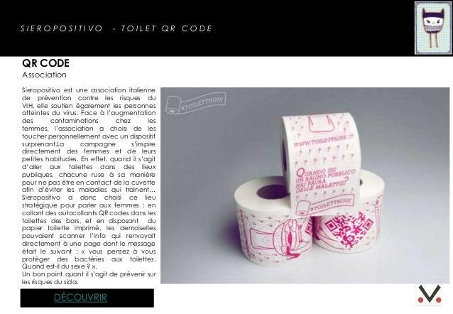 SIEROPOSITIVO                 - TOILET QR CODEQR CODEAssociationSieropositivo est une association italiennede prévention c...