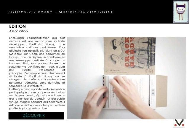 FOOTPATH LIBRARY – MAILBOOKS FOR GOODEDITIONAssociationEncourager l'alphabétisation des plusdémunis est une mission que so...