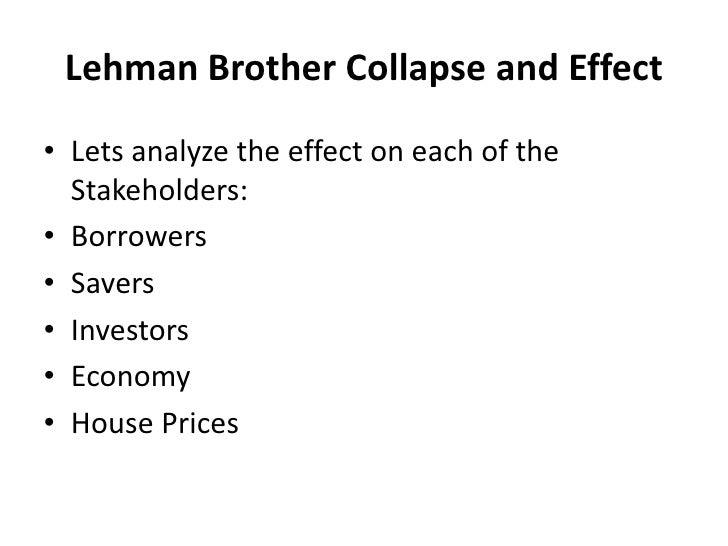 lehman brothers risk management case study Risk part 3: case study - how poor risk management caused the crisis the  collapse of lehman brothers on september 15, 2008 is the.