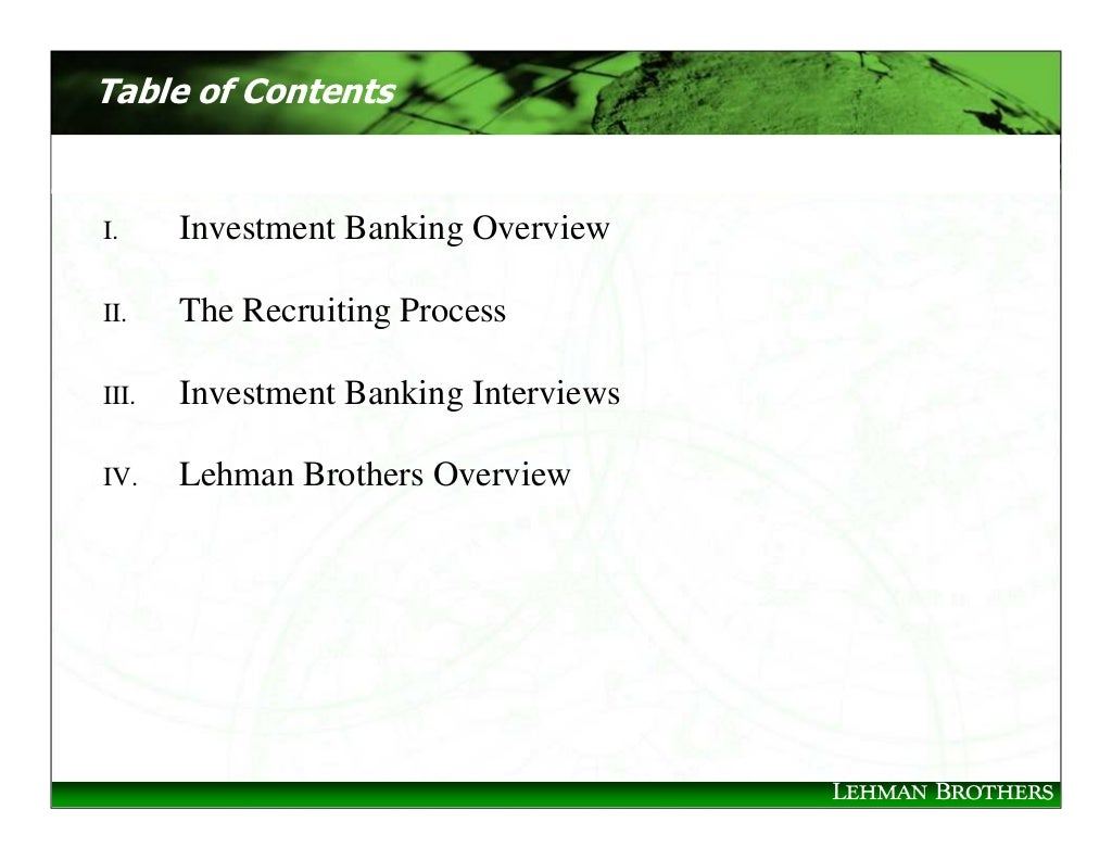 how to study investment banking
