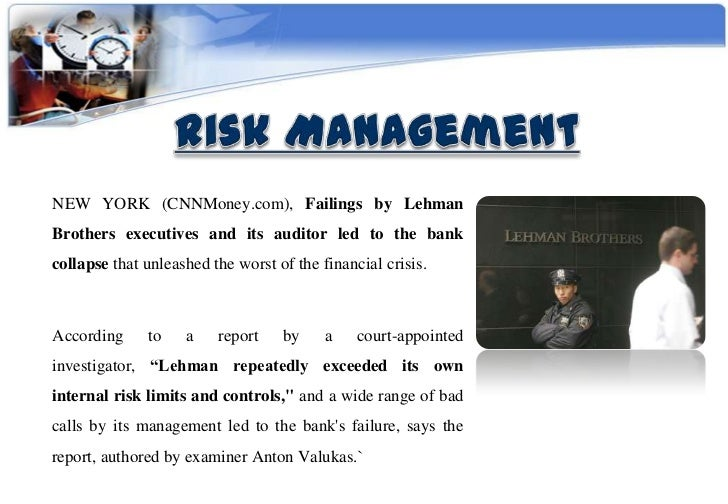 lehman brothers: crisis in corporate governance case study