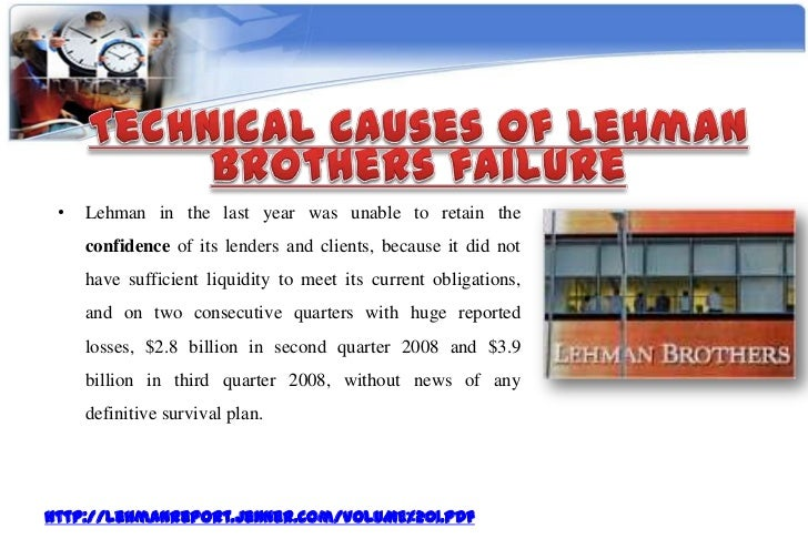 lehman brothers risk management case study