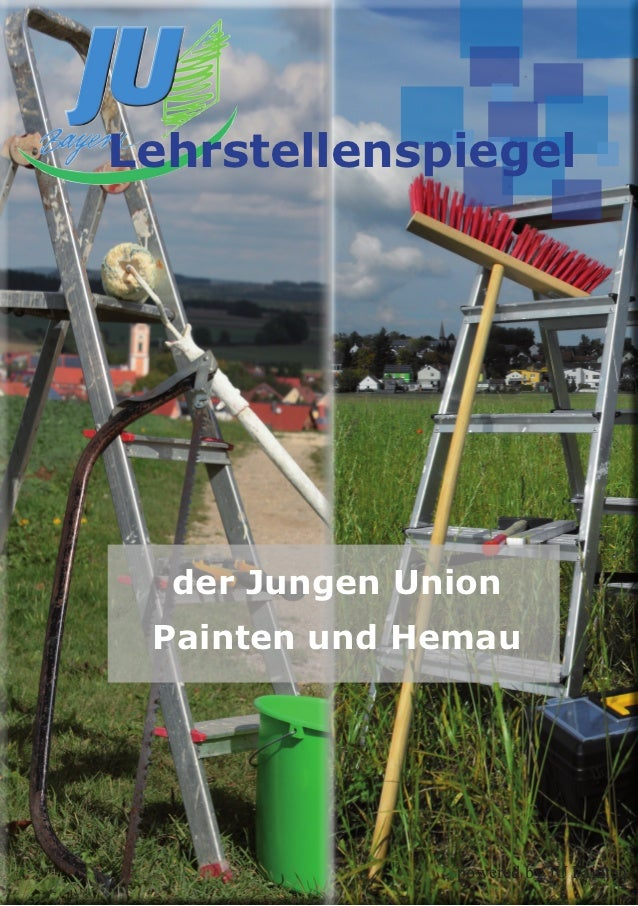 Lehrstellenspiegel  der Jungen Union Painten und Hemau               powered by JU Painten