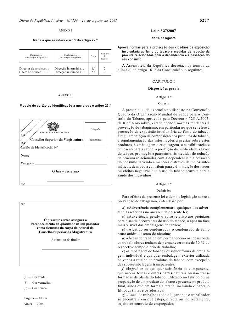 Diário da República, 1.ª série — N.º 156 — 14 de Agosto de 2007                                                           ...
