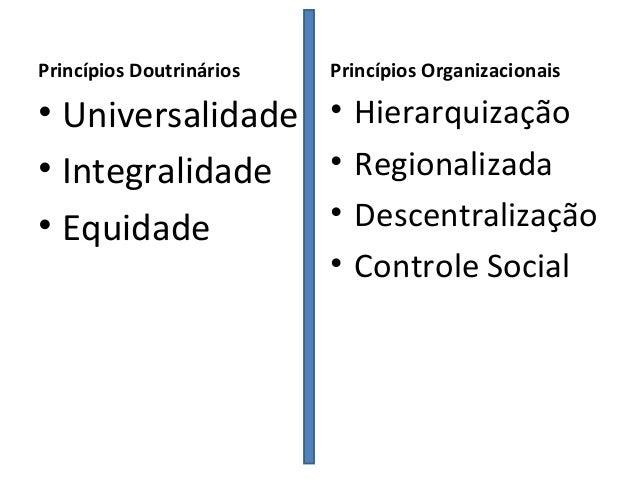 II - integralidade de assistência,entendida como conjunto articulado e     contínuo das ações e serviços preventivos e cur...