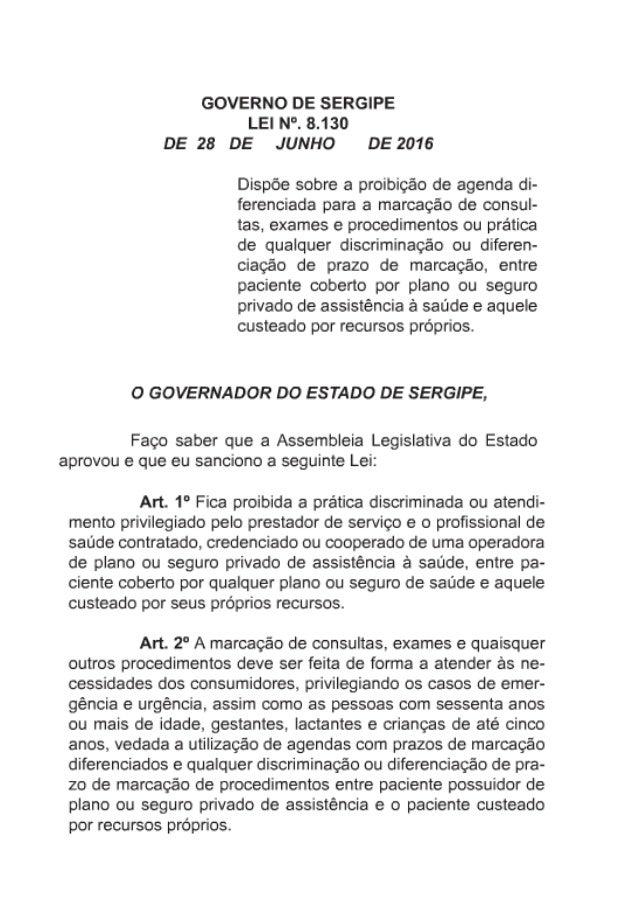 Lei nº 8130/2016