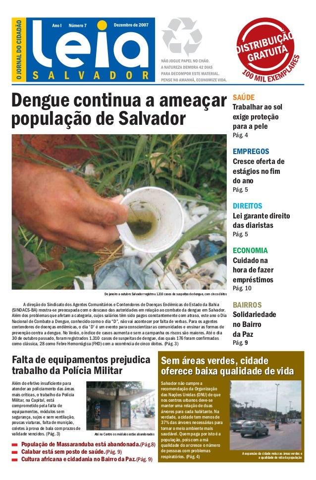 Dengue continua a ameaçar                                                                                                 ...