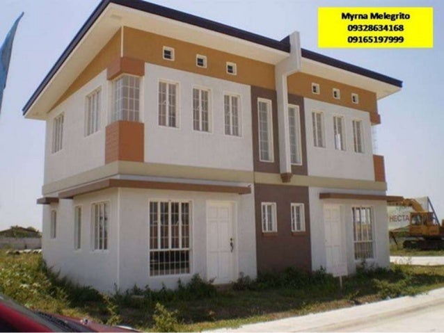 80sqm Duplex 2 storey provision of Car port