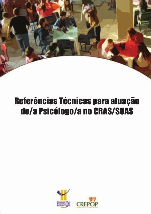 Referências Técnicas para atuação do/a Psicólogo/a no CRAS/SUAS